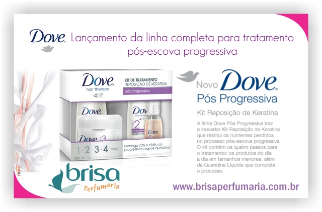 Kit Reposição de Keratina Pós Progressiva Dove